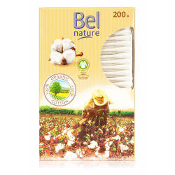 Bel Nature - Bio Wattestäbchen - 200 Stück