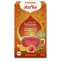Yogi Tea - a Natural feeling of well-being for the senses - 20pcs