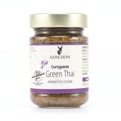 Sanchon - pasta de curry Verde Tailandés - 190g