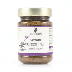 Sanchon - pasta di curry Green Thai - 190g