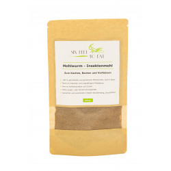 Six feet-to-eat meal worms and flour - 100g