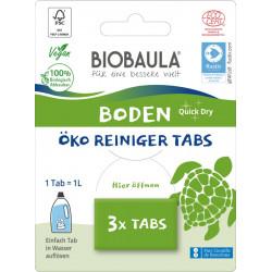 Biobaula - Boden Reinigungs-Tabs - 3 Stück