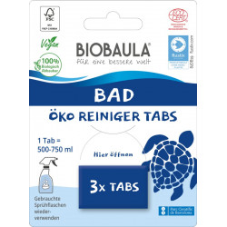 Biobaula - Bad-Reinigungs-Tabs - 3 Stück