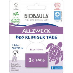 Biobaula - Nettoyant Multi-Usage-Tabs - 3 Pièces