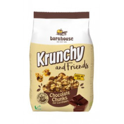 Barnhouse - Krunchy and Friends Chocolate Chunks - 500 g