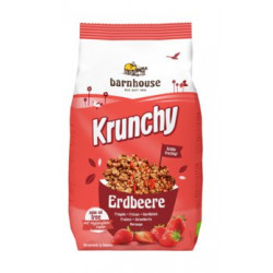 Barnhouse - Krunchy strawberry 375 g