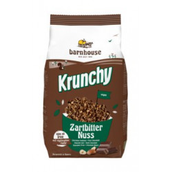 Barnhouse - Krunchy de chocolate oscuro de la Nuez 375 g