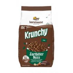 Barnhouse - Krunchy le chocolat Noir et Noix de 375 g