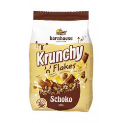 Barnhouse - Krunchy n Flakes chocolate 375 g