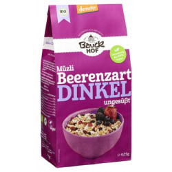 Bauckhof spelt Müzli delicate Demeter 425 g of Berries