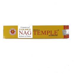 Vijayshree - bastoncini di Incenso Golden Masala Temple - 15g