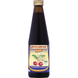 Bag BACHER - The sour cherry juice directly juice 0,33 l