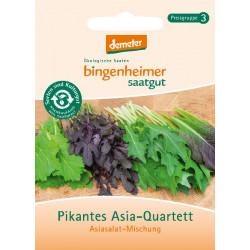 Bingenheimer De Semillas Picante Asia-Cuarteto, Salatmischung