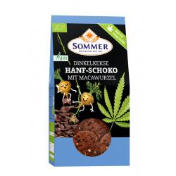 Été Dinkelkekse de Chanvre Chocolat avec Macawurzel - 150g
