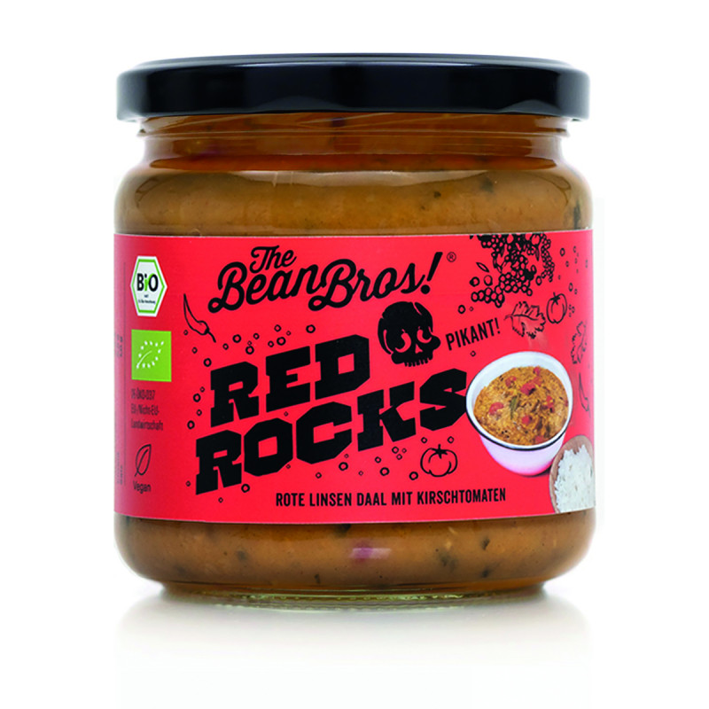 The Beans Brothers - Red Rocks Red lentil Dal - 380g
