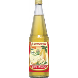 BEUTELSBACHER - pear-ginger Demeter juice - 0.7 l