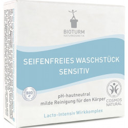 Bioturm - Seifenfreies Waschstück sensible - 100g