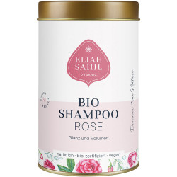Eliah Sahil - Bio powder-Shampoo-Rose gloss/volume - 100 g