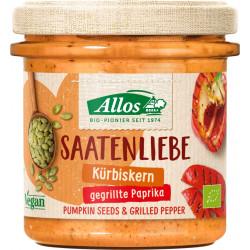 Allos - Saatenliebe graines de Citrouille, de Poivrons grillés - 135 g