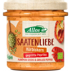 Allos - Saatenliebe Kürbiskerne gegrillte Paprika - 135 g