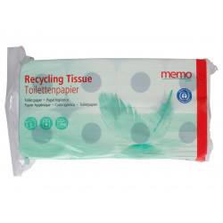 memo - recycling toilet paper 2 layers - 8 rolls