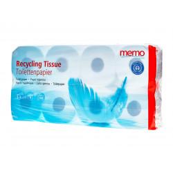 memo - riciclaggio di carta Igienica 3lagig - 8 Rotoli
