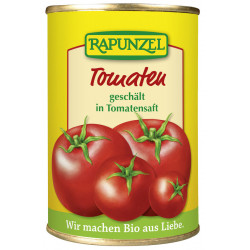 Rapunzel tomatoes peeled in cans 400g