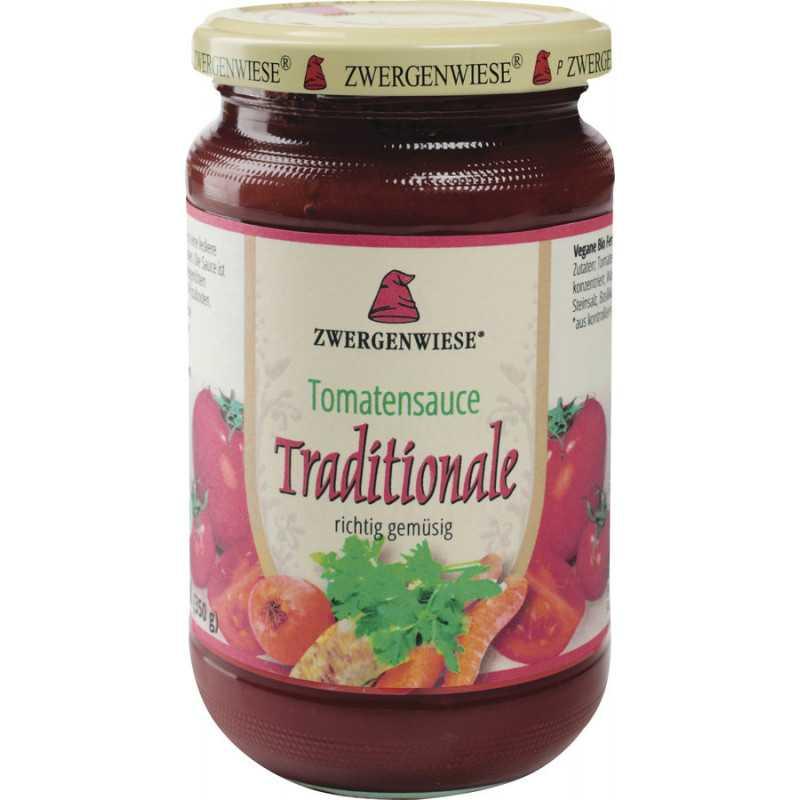 Zwergenwiese tomato sauce, Traditional - 340 ml