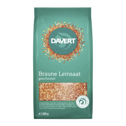Davert - crushed linseed - 200g