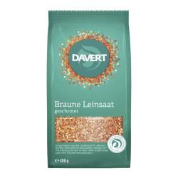 Davert - Geschrotete semi di Lino - 200g