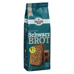 Bauckhof - Mélange à pâtisserie biologique sans gluten pour pain noir - 500g