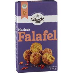 Bauckhof - Harissa Falafel sin gluten Bio - 160g