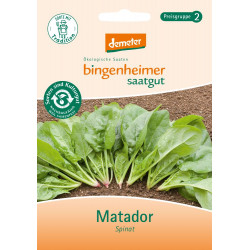 Bingenheimer seed spinach Matador - 25.1 g