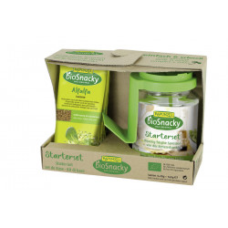 Raiponce - Germes Starter Set bioSnacky - 1st