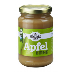 Bauckhof - Apfel-Birnenmark ungesüßt Bio - 360g