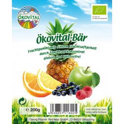 Ökovital - organic fruit juice bear - 200 g