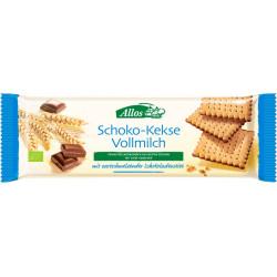Allos - Cioccolato-Biscotti Latte 130g
