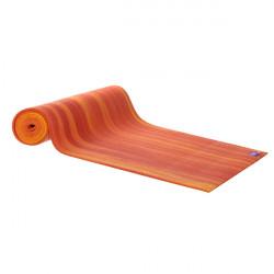 AKO Yoga stuoia di yoga Deluxe - Rosso / Arancione