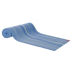 AKO Yoga - Yogamatte Deluxe - Blau / weiß