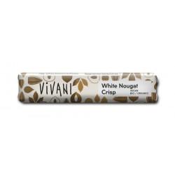 Vivani - White Nougat Crisp bar 35g
