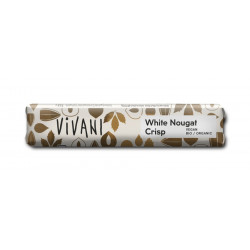 Vivani - White Nougat Crisp Came - 35g