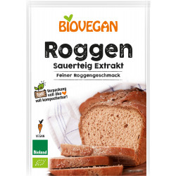 Biovegan organic rye sourdough extract - 30g