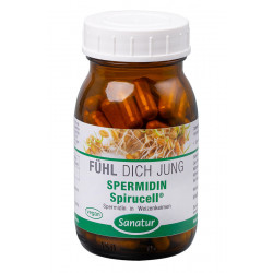 Sanatur - Spermidin Spirucell® - 90 Cápsulas