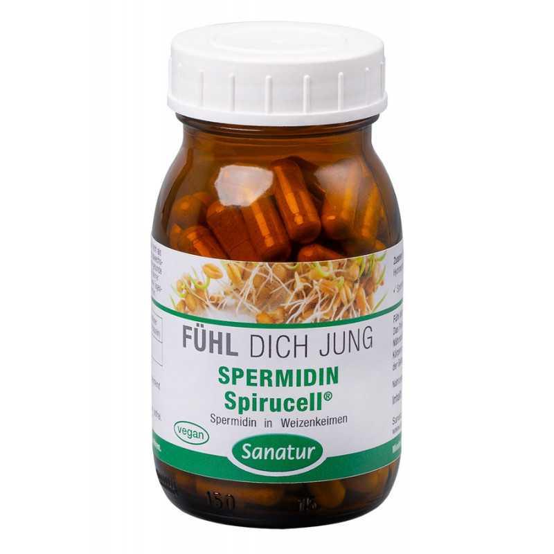 Sanatur - Spermidin Spirucell® - 90 Kapseln