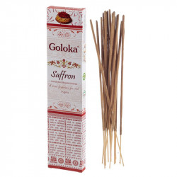Goloka saffron incense sticks - 15g