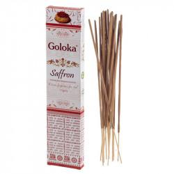 Goloka - Zafferano bastoncini di Incenso - 15g