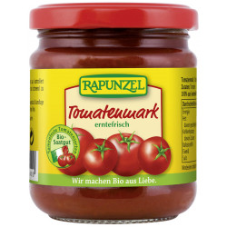 Raiponce - le concentré de tomate dans un Verre de 200g
