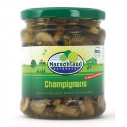 Marschland - Bio-Champignons geschnitten - 330ml