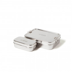 ECO lunch box - lunch box XL with a snack box