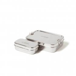 ECO pranzo box lunch box XL con una casella di merenda